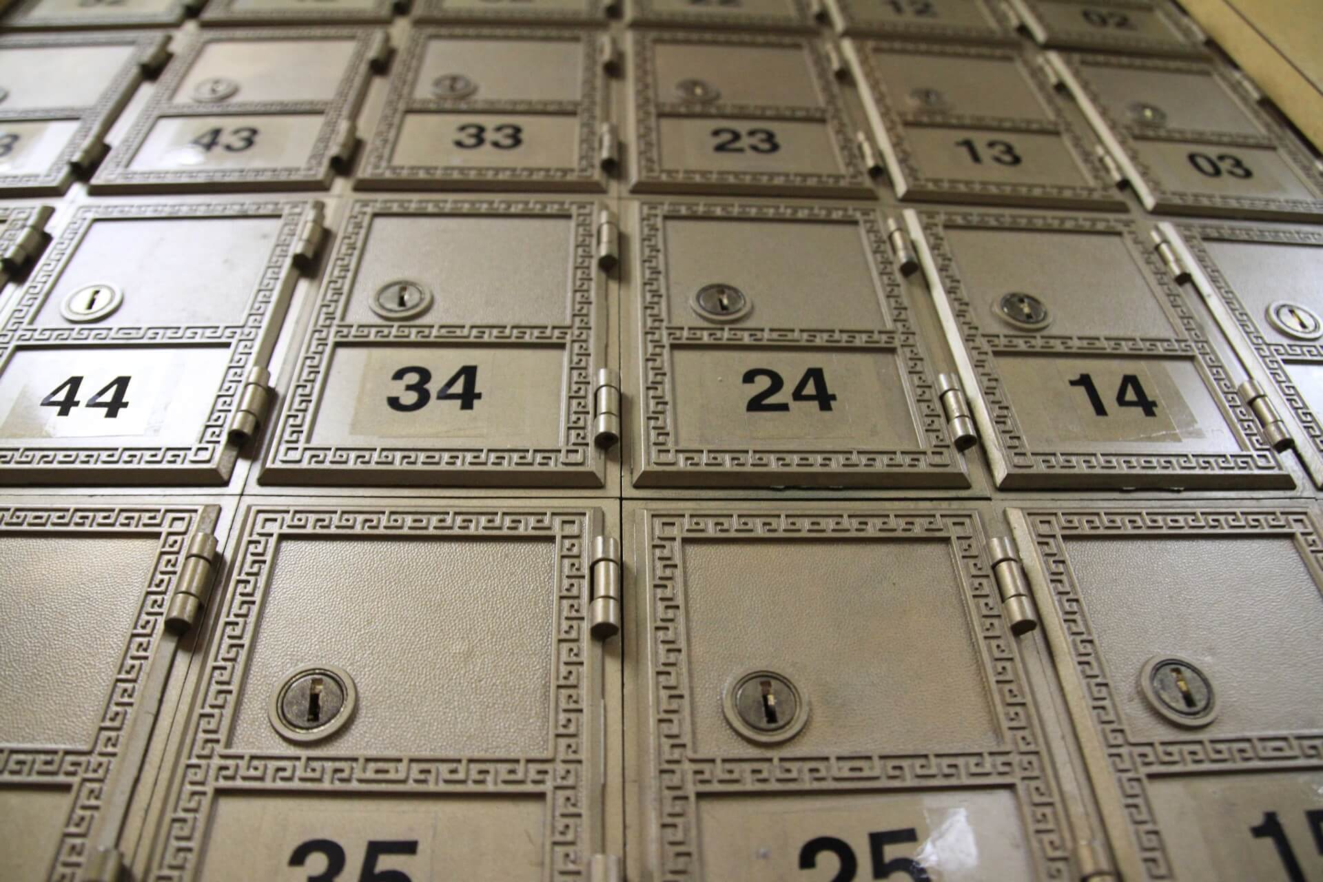 SOHO Office Mailboxes